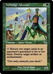 Magic the Gathering Judgment Single Card Common #126 Nullmage Advocate