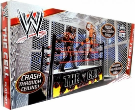 Mattel WWE Wrestling Exclusive Ring Playset The Cell