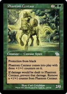 Magic the Gathering Judgment Single Card Uncommon #127 Phantom Centaur