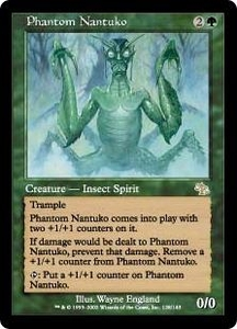Magic the Gathering Judgment Single Card Rare #128 Phantom Nantuko