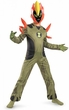 Disguise Costume Ben 10 #11543 Swampfire Classic [Child]