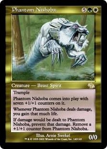 Magic the Gathering Judgment Single Card Rare #140 Phantom Nishoba