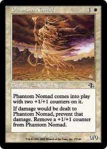 Magic the Gathering Judgment Single Card Common #17 Phantom Nomad