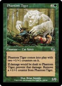 Magic the Gathering Judgment Single Card Common #129 Phantom Tiger