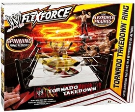 Mattel WWE Wrestling FlexForce Tornado Takedown Ring