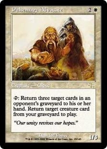 Magic the Gathering Judgment Single Card Rare #19 Pulsemage Advocate