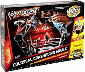 Mattel WWE Wrestling FlexForce Ring Playset Colossal Crashdown Arena [Massive Collapsable Structure!] BLOWOUT SALE!