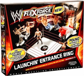 Mattel WWE Wrestling FlexForce Launchin Entrance Ring