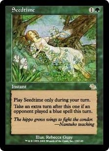 Magic the Gathering Judgment Single Card Rare #130 Seedtime