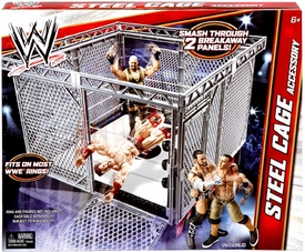 Mattel WWE Wrestling Steel Cage ACCESSORY [For Superstar Ring]