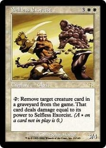 Magic the Gathering Judgment Single Card Rare #21 Selfless Exorcist