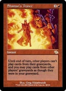 Magic the Gathering Judgment Single Card Rare #98 Shaman's Trance