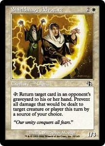 Magic the Gathering Judgment Single Card Common #22 Shieldmage Advocate