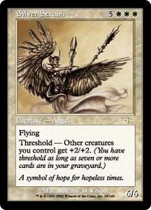 Magic the Gathering Judgment Single Card Rare #23 Silver Seraph