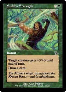 Magic the Gathering Judgment Single Card Common #132 Sudden Strength