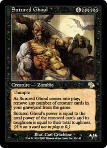 Magic the Gathering Judgment Single Card Rare #73 Sutured Ghoul