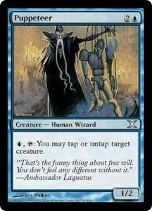 Magic the Gathering Tenth Edition Single Card Uncommon #98 Puppeteer