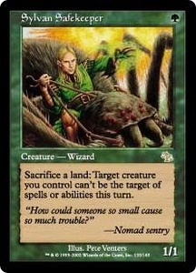 Magic the Gathering Judgment Single Card Rare #133 Sylvan Safekeeper