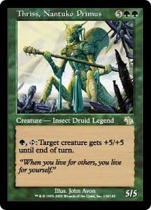 Magic the Gathering Judgment Single Card Rare #134 Thriss, Nantuko Primus