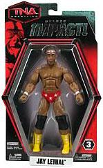 TNA Wrestling Deluxe Impact Series 3 Action Figure Jay Lethal