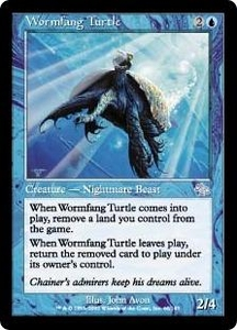Magic the Gathering Judgment Single Card Uncommon #60 Wormfang Turtle