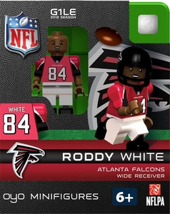 OYO Football NFL Building Brick Minifigure Roddy White [Atlanta Falcons]