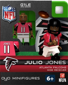 OYO Football NFL Building Brick Minifigure Julio Jones [Atlanta Falcons]