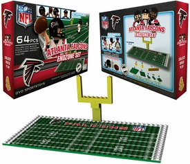 OYO Football NFL Generation 1 Team Field Endzone Set Atlanta Falcons