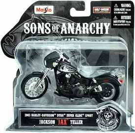 Sons of Anarchy Maisto 1:18 Die Cast Replica Bike Jackson