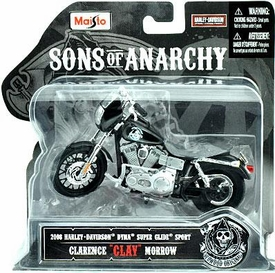 Sons of Anarchy Maisto 1:18 Die Cast Replica Bike Clarence