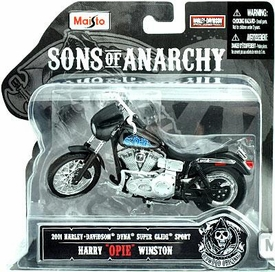 Sons of Anarchy Maisto 1:18 Die Cast Replica Bike Harry