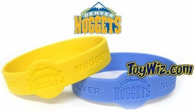 Official NBA Team Rubber Bracelet Denver Nuggets (Blue)