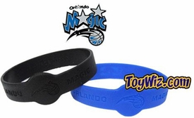 Official NBA Team Rubber Bracelet Orlando Magic [Black]