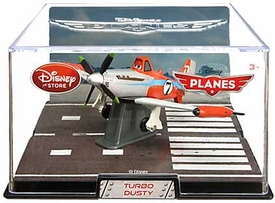 Disney Planes Exclusive 1:43 Die Cast Plane In Plastic Case Turbo Dusty