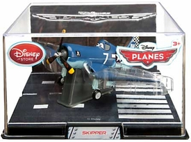 Disney Planes Exclusive 1:43 Die Cast Plane In Plastic Case Skipper