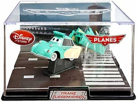 Disney Planes Exclusive 1:43 Die Cast Plane In Plastic Case Franz Fliegenhosen [Solid Color Visor]