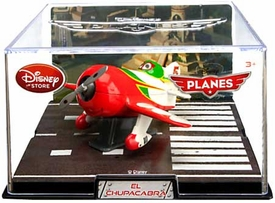 Disney Planes Exclusive 1:43 Die Cast Plane In Plastic Case El Chupacabra