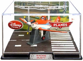 Disney Planes Exclusive 1:43 Die Cast Plane In Plastic Case Racing Dusty
