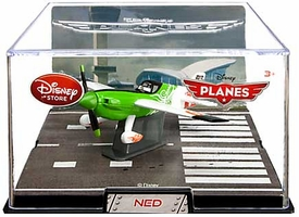 Disney Planes Exclusive 1:43 Die Cast Plane In Plastic Case Ned