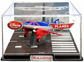 Disney Planes Exclusive 1:43 Die Cast Plane In Plastic Case Bulldog