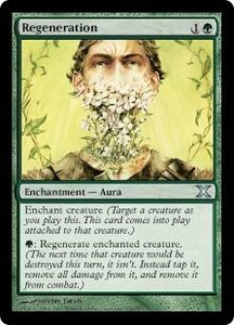 Magic the Gathering Tenth Edition Single Card Uncommon #290 Regeneration