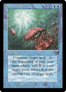 Magic the Gathering Legends Single Card Uncommon Mana Drain