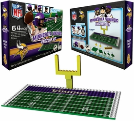 OYO Football NFL Generation 1 Team Field Endzone Set Minnesota Vikings