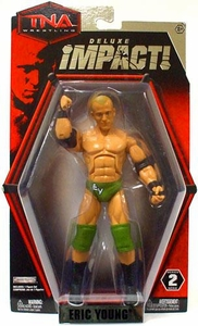 TNA Wrestling Deluxe Impact Series 2 Action Figure Eric Young