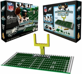 OYO Football NFL Generation 1 Team Field Endzone Set Philadelphia Eagles