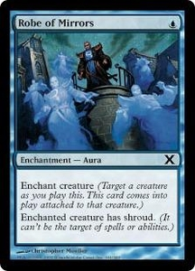 Magic the Gathering Tenth Edition Single Card Common #101 Robe of Mirrors
