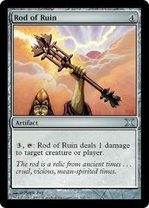 Magic the Gathering Tenth Edition Single Card Uncommon #341 Rod of Ruin