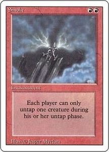 Magic the Gathering Revised Edition Single Card Rare Smoke