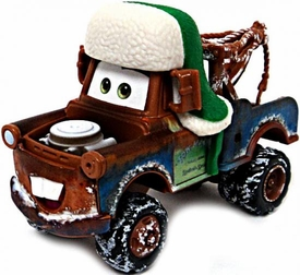 Whee-Hoo Winter Mater [Mater Saves Christmas] LOOSE Disney / Pixar CARS Movie 1:55 Die Cast Car