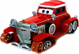 Santa Car [Mater Saves Christmas] LOOSE Disney / Pixar CARS Movie 1:55 Die Cast Car